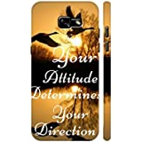 AMAN Your Attitude Your Direction 3D Back Cover For Samsung Galaxy A3 2017