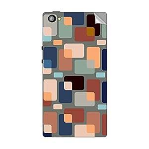Garmor Designer Mobile Skin Sticker For XOLO Cube 5.0 - Mobile Sticker