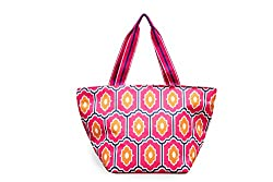 All For Color Moroccan Tile Large Tote