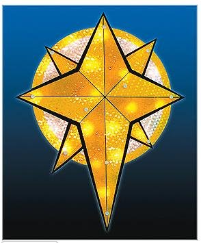 STAR OF BETHLEHEM CHRISTMAS OUTDOOR DECORATIONS