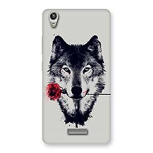 Ajay Enterprises Brave Roses Wolf Multicolor Back Case Cover for Lava-Pixel-V1
