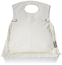 Urban Originals Style Icon Cross Body Bag, Eggshell White, One Size