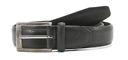 Leather Island 35mm Ultra Soft Napa Black Leather Belt