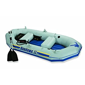 Intex Seahawk II Boat Set by Intex