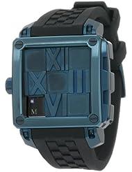 Ritmo Mundo Women's 511/7 Blue Puzzle Slide Case Automatic Watch