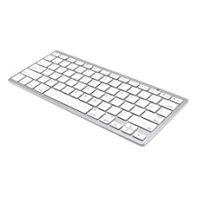 Gearonic Wireless Bluetooth Keyboard for iPad 2/3/4 and Android Windows Slim Laptop (AV-5304PUIB)