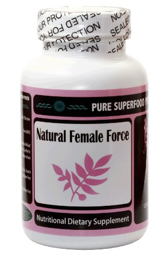 Natural Female Force - PMS Relief - Menopause - Hormone Balance - Dong Quai, Black Cohosh, Maca Root and more...