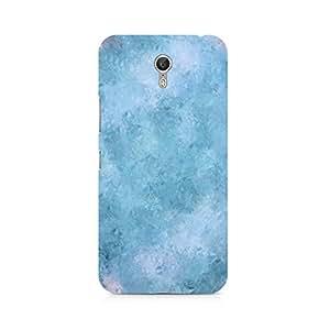 Ebby Blue Abstract Flourish Premium Printed Case For Lenovo Zuk Z1