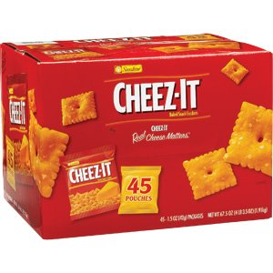Sunshine Cheez It Baked Snack Crackers, 67.5 Ounce (024100717170)
