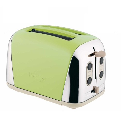 Prestige Deco Toaster, Apple Green, 2 Slice from Prestige
