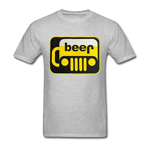 Men's Funny Drinking Logo Jeep Beer Mug Jeep T-Shirt