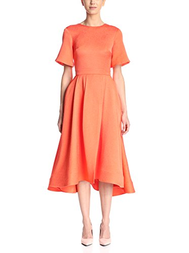 Christian Siriano Women's Textured Fit-and-Flare Dress