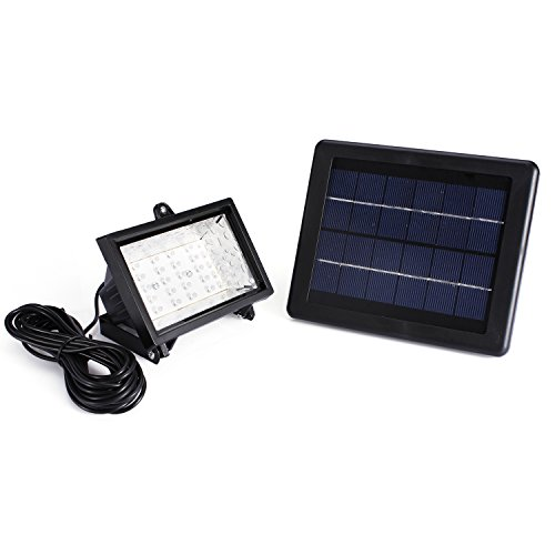 Fafada® 30 Led Solar Powered Ultra Bright Outdoor Garden Flood Lawn Spot Light Lamp