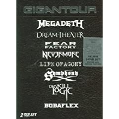 Gigantour by Megadeth and Dry Kill Logic