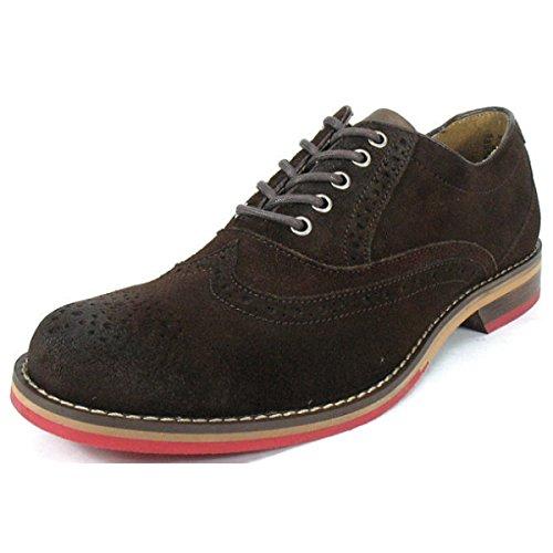 (ウルヴァリン) WOLVERINE ブーツ ウルバリン REDSOLE OXFORD W00308 W00308-ダークブラウン US7(25.0cm)