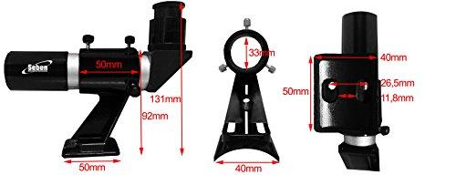 seben cercatore angolo telescopio angle finder 6x30 90 mirino supporto fs3. Black Bedroom Furniture Sets. Home Design Ideas