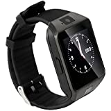 Micromax Canvas Ego A113 Bluetooth Smartwatch (Black) With Sim Card Support & Supporting Apps Like Twitter, Whats App, Facebook, Wrist Watch by JIYANSHI