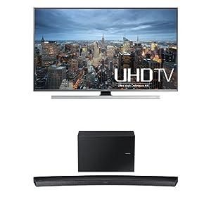 Samsung UN65JU7100 65-Inch TV with HW-J7500 Curved Soundbar from Samsung