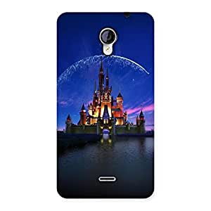 Stylish Castle Multicolor Back Case Cover for Micromax Unite 2 A106