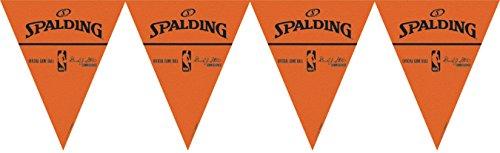 Amscan Amazing Spalding Pennant Banner, 12', Orange