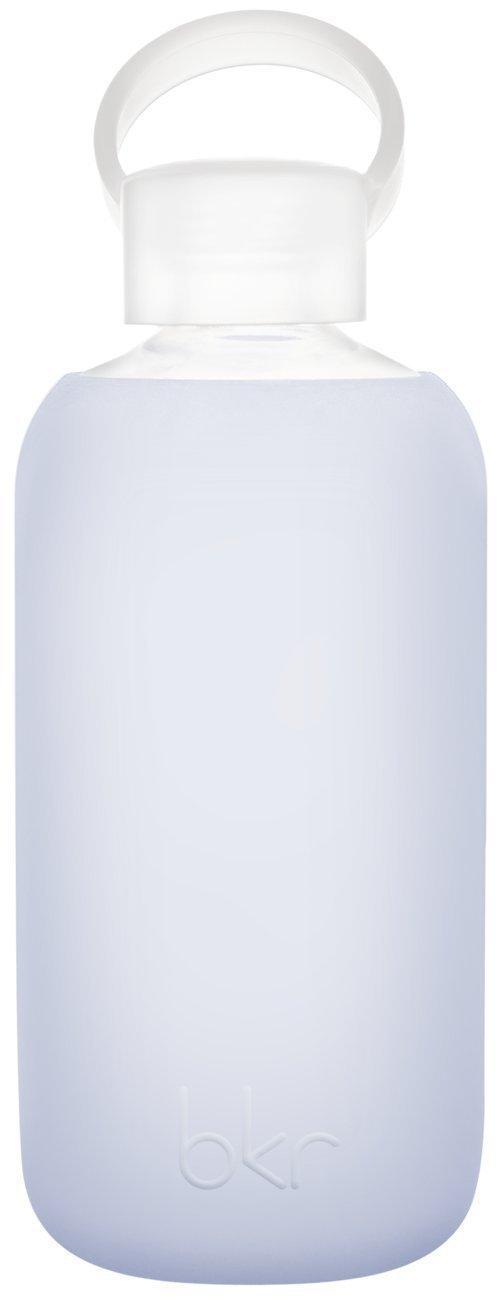 bkr bottle : bubbly glass water bottle + soft silicone sleeve - 500ml
