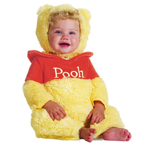 Disney Infant Boys & Girls Plush Winnie the Pooh Costume Bear Jumper with Hat