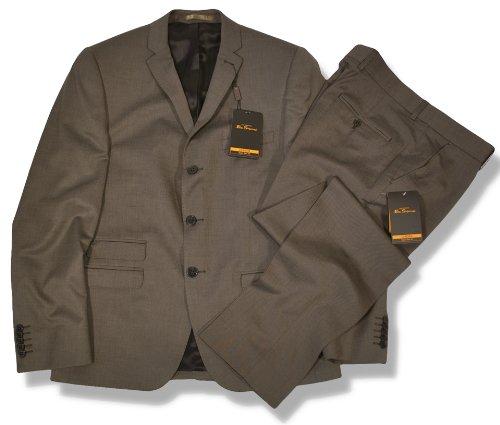 Ben Sherman Slim Fit 3 Button Mod Suit Tonic Bronze 42 chest / 36 waist