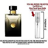 Versace Oud Noir Eau de Parfum Glass Mini Travel Spray for Men (5ml) (Tamaño: 5ml)