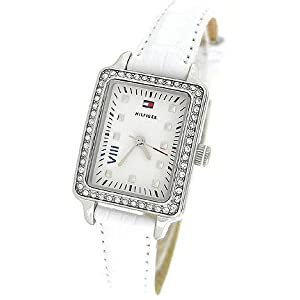 TOMMY HILFIGER CRYSTAL LEATHER LADIES WATCH - 1781110