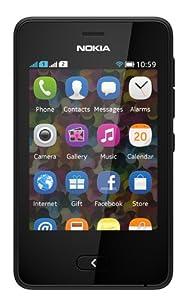 Nokia Asha 501 (Dual SIM, Black)