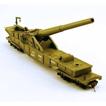 Spur-HO-Model-Power-US-Army-Eisenbahngeschtz