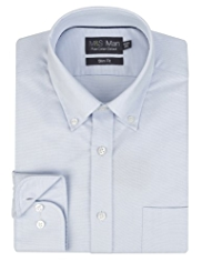 Pure Cotton Slim Fit Quick Iron Oxford Shirt
