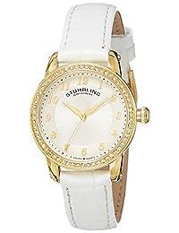 Stuhrling Original Analog White Dial Women's Watch - 651.01