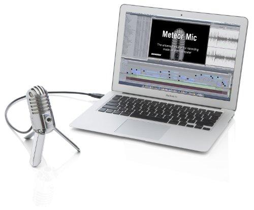 Samson Meteor Mic USB Studio Microphone (Chrome) - 7