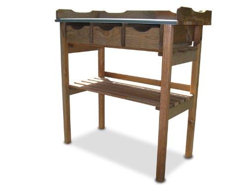 pflanztisch mit 3 schubladen ean 4024785218012. Black Bedroom Furniture Sets. Home Design Ideas