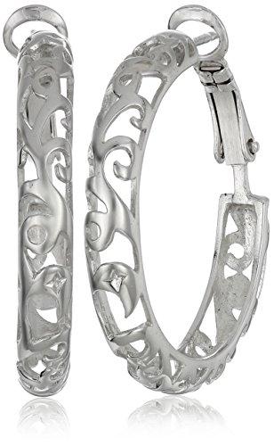 sterling-silver-diamond-cut-filigree-hoop-earrings