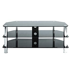 Cheap  Levv TV8105BC Tv Stand for up to 50 inch LCD and Plasma Screens