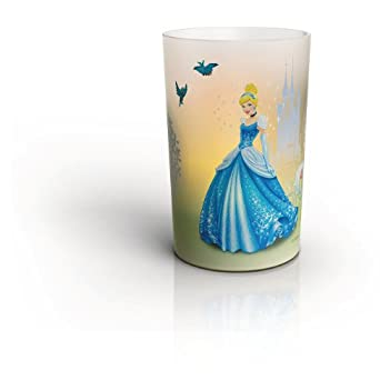 Philips Disney Cinderella Children's Candle Set - 4 x 0.06 W LED Candles