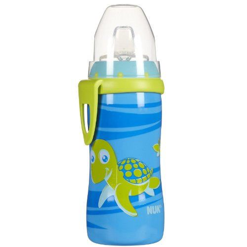 Nuk Bpa Free Active Cup With Clip, Single Pack, 10 Ounce, Turtle front-1016087