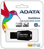 ADATA USB Flash Drive 8GB UV100 Black
