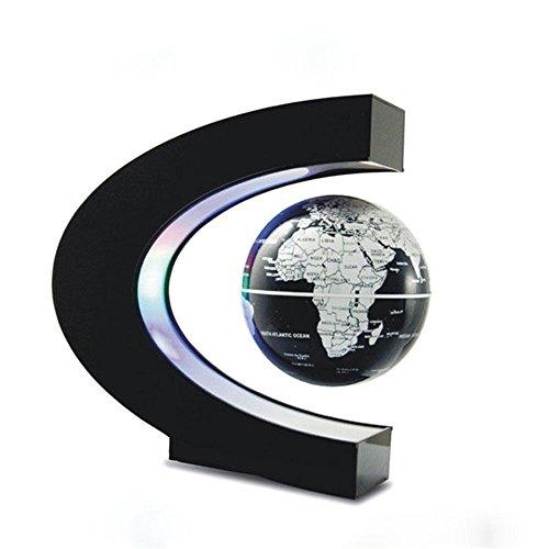 Senders-Floating-Globe-with-LED-Lights-C-Shape-Magnetic-Levitation-Floating-Globe-World-Map-for-Desk-Decoration