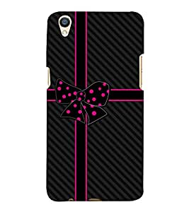 Beautiful Bow 3D Hard Polycarbonate Designer Back Case Cover for Oppo F1 Plus