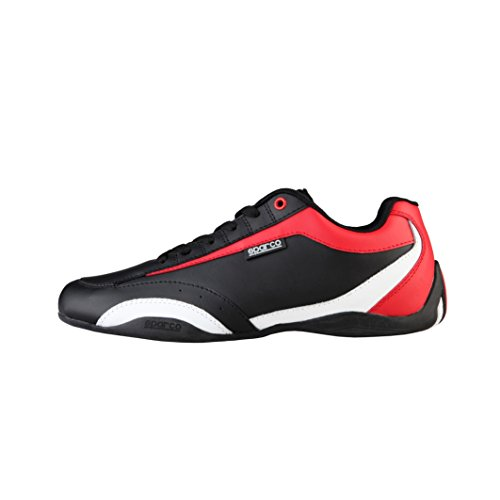 Sparco Sneakers Zandvoort NERO-ROSSO EU 43