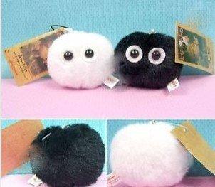 2 PCS My Neighbor Totoro Soot Spirits Dust Ball Plush - 1