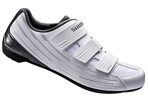 Shimano SH-RP2 Women's Touring Road Cycling Synthetic Leather Shoes, White, 40 (Cycling Road compare prices)
