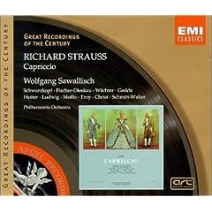 W.サヴァリッシュ指揮/フィルハーモニア管弦楽団 R.シュトラウス:オペラ《カプリッチョ》の商品写真
