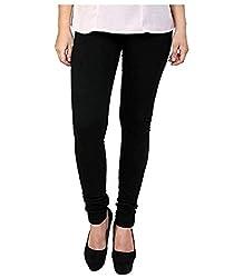 BULLY Women's Cotton Lycra Leggings (MPJLEG-13)