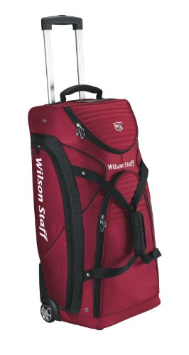 Wilson Staff Reisetasche, rot/ schwarz, WGB141100DRED