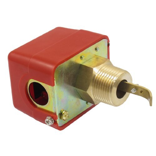 Water & Wood AC 220V 15A Male Thread SPDT Water Paddle Flow Switch HFS-25 (Ac Flow Switch compare prices)
