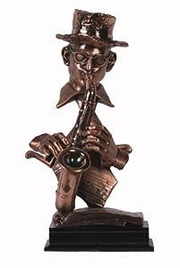 Saxophone Player Statue